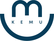 kemu_alternative_logo_blue_transparent_screen
